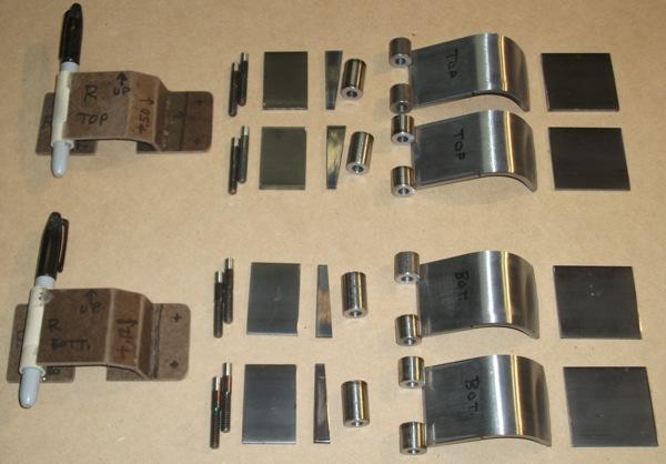 Bugatti Atlantic Replica Project Body Pieces